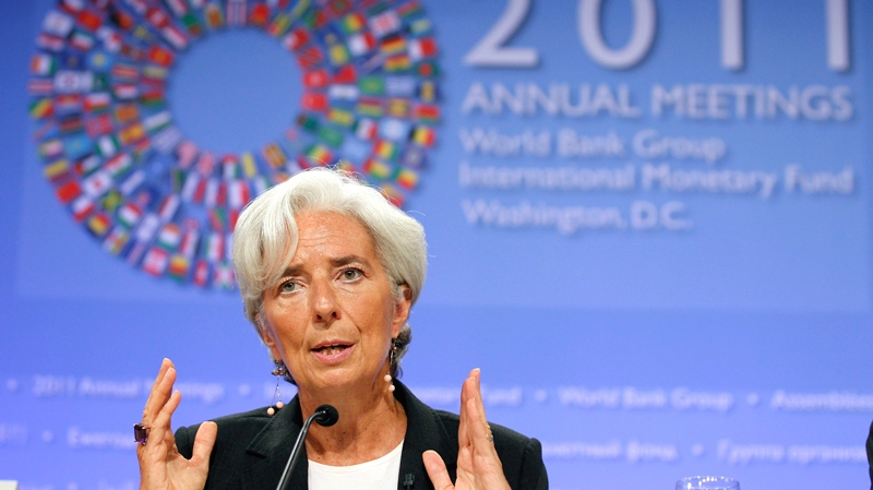 christine legarde warns about another recession
