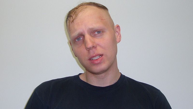 Edmonton police have named the suspect as 29-year-old Jayme Joshua Pasieka.