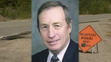 Stew Tuningley, 74, was killed by a pickup truck while collecting garbage on a West Kelowna road in July 2011. (CTV)