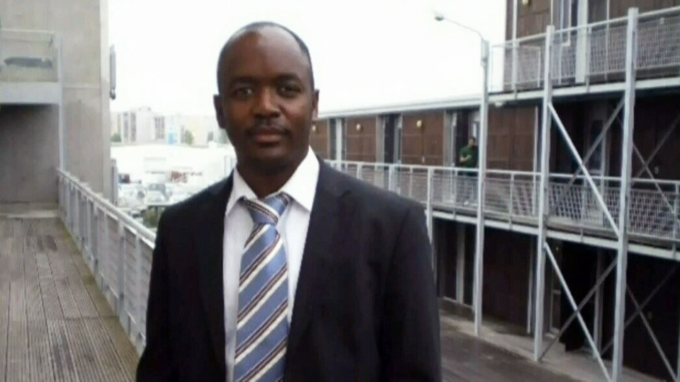 Thierno Bah, 41, was one of the victims of a stabbing incident in Edmonton on Friday, Feb. 28, 2014.
