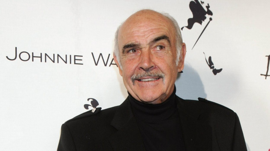 Sir Sean Connery arrives at the 'Dressed to Kilt' fashion show, Monday, April 3, 2006, in New York, which benefits Friends of Scotland, a charity dedicated to advancing contemporary Scottish issues in the United States. (AP / Diane Bondareff)