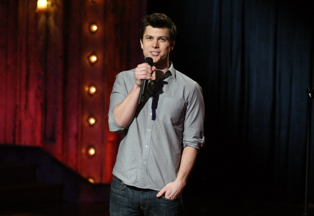 Colin Jost appears on SNL's Weekend Update