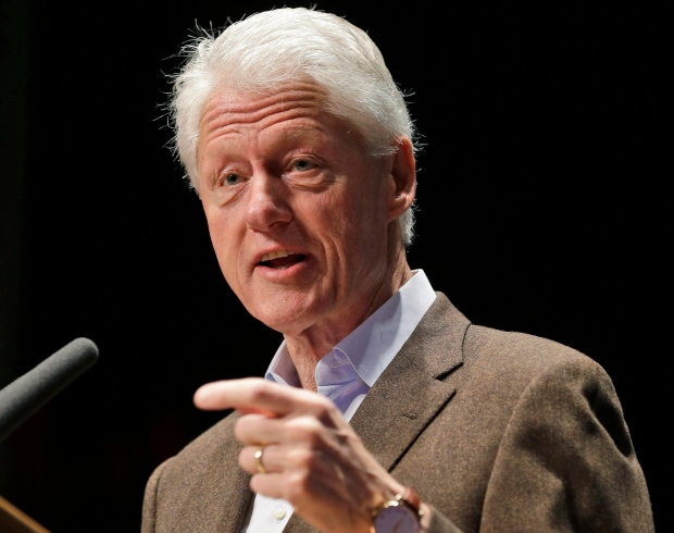 Bill Clinton sex scandal back in spotlight