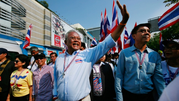 Anti-government protesters Thailand