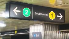 CTV Toronto: TTC tests numerical signage system