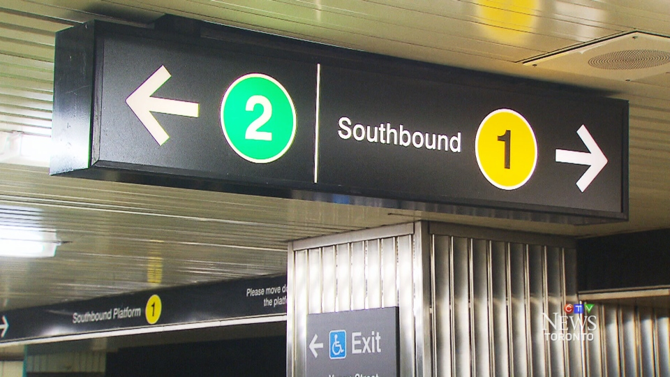CTV Toronto: TTC tests numerical signage system