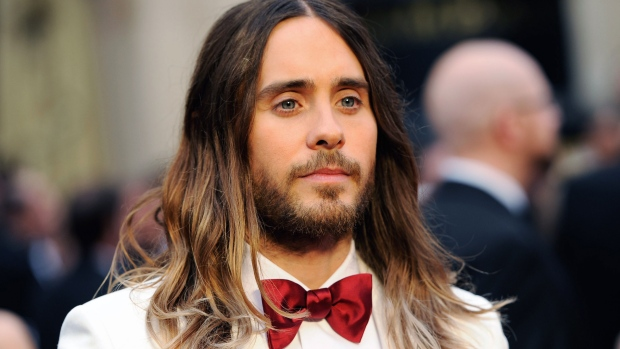 Jared Leto Oscars red carpet L.A.