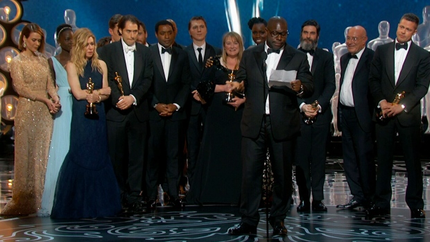 '12 Years a Slave' wins best picture