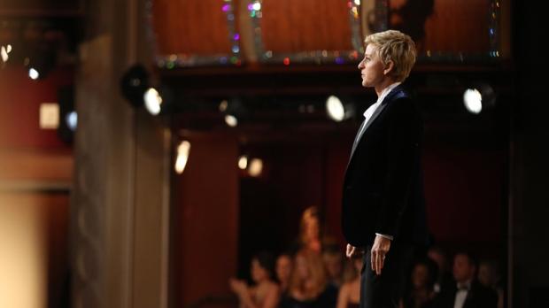 Oscars host Ellen DeGeneres