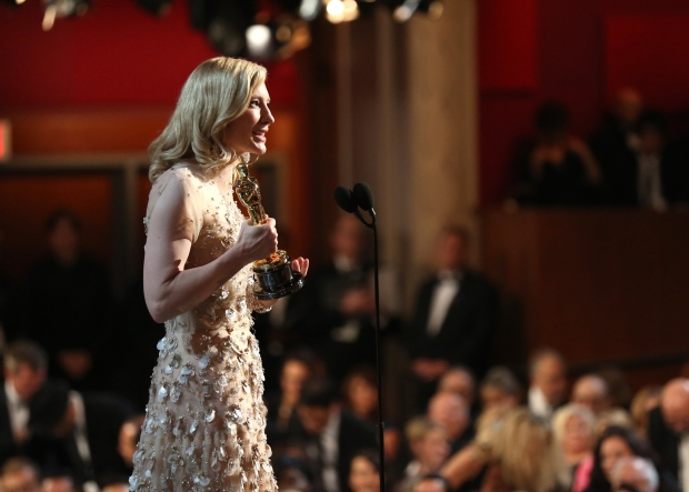 Cate Blanchett wins best actress