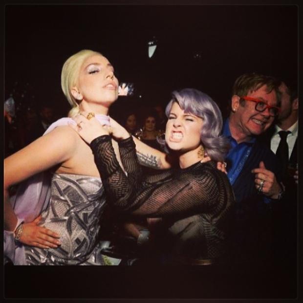 Lady Gaga Kelly Osbourne Instagram