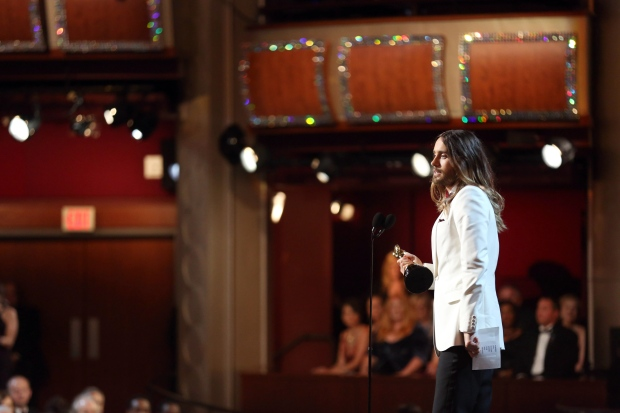 Jared Leto speech the best at the Oscars
