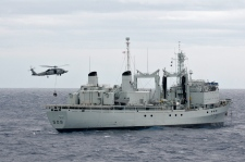 HMCS Protecteur recovered in Hawaiian waters
