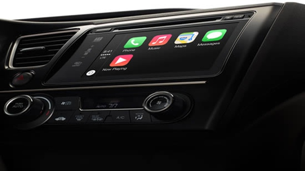 CarPlay allows iPhone users to connect their phones to their dashboard display.
