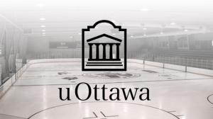 The University of Ottawa hockey rink.