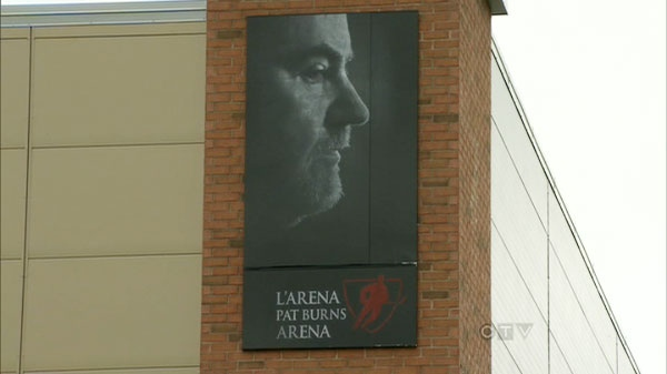Pat Burns Arena is seen in Stanstead, Que., on Sunday, Sept. 25, 2011, the official opening day of the arena.