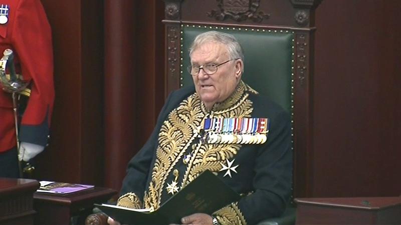 Lieutenant Governor Donald Ethell