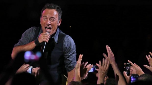 Bruce Springsteen performs in Sydney, Australia