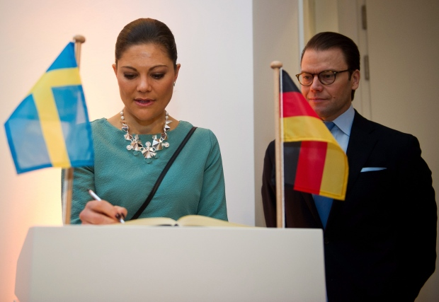 Swedish Princess Victoria not going to Sochi