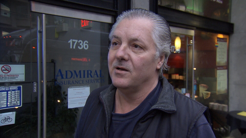 Michael Williams, 53, says he went to the office of Vancouver-West End MLA Spencer Chandra Herbert to complain about a rainbow flag at a public library, but denied claims he assaulted a staff worker there and that the attack was homophobic in nature. March 4, 2014. (CTV)