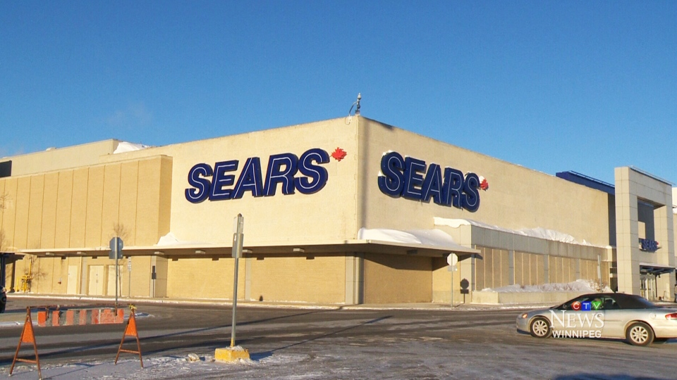 An employee at this Winnipeg Sears store was suspended after a  racially-charged exchange with a customer was caught on video and posted online has been suspended.