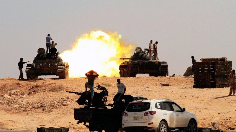 Libya, rebel fighters, Gadhafi