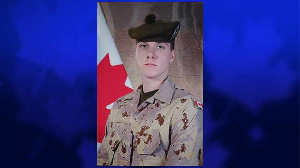 Cpl. Justin Stark is pictured in this undated photo.