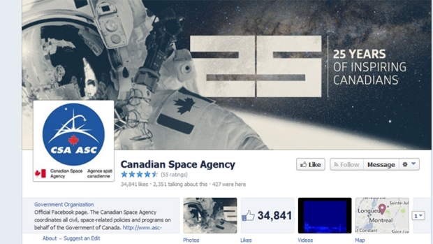 Canadian Space Agency marks 25th anniversary