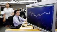 world markets shaky by debt crisis