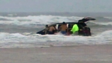 dramatic rescue in daytona beach
