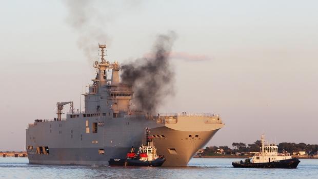 French-built warship BPC Vladivostock