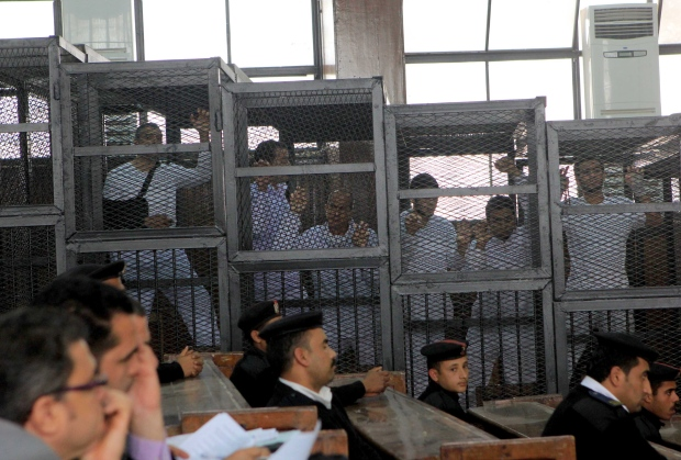 Mohamed Fahmy speaks out in court