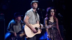 Dean Brody performs during the Canadian Country Music Awards in Edmonton, Alberta on Sunday Sept. 8, 2013. (The Canadian Press/Jason Franson)