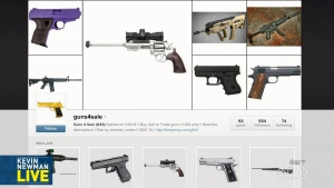 Kevin Newman Live: Facebook to monitor gun ads