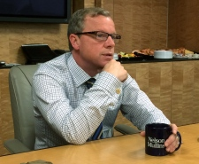 Brad Wall visits Washington