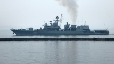 Ukraine Navy in the Black Sea
