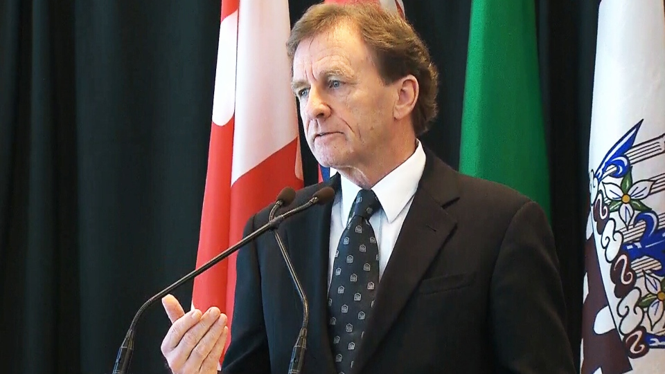 University of Ottawa President Allan Rock discusses allegations of sexual misconduct involving students on Thursday, March 6. 2014,