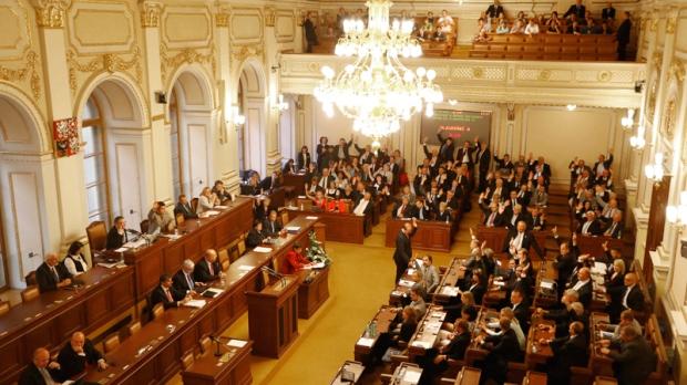 Czech Republic's parliament in Prague