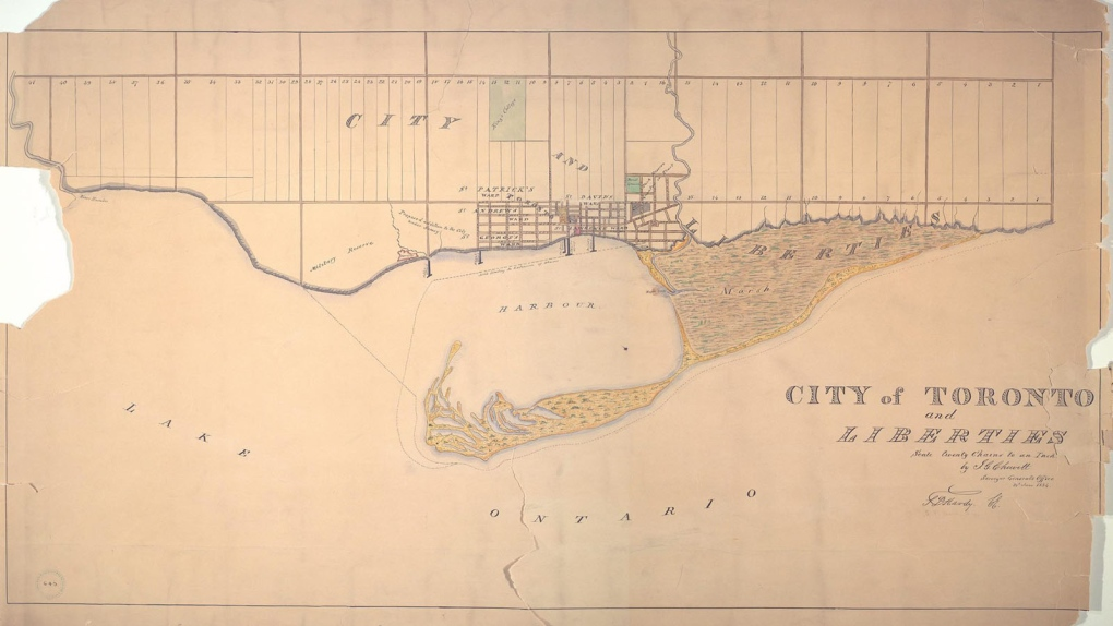 Toronto established in 1834