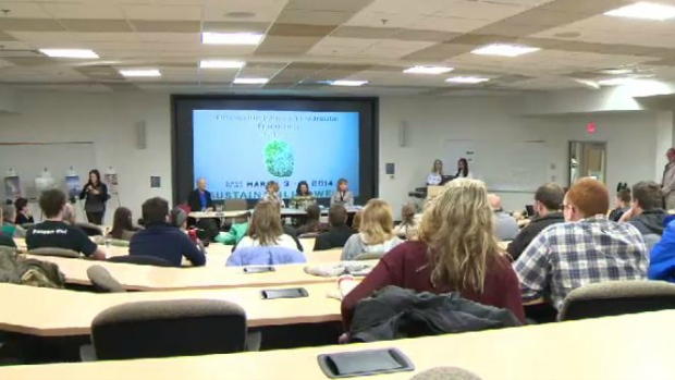Saint Mary's University fracking discussion