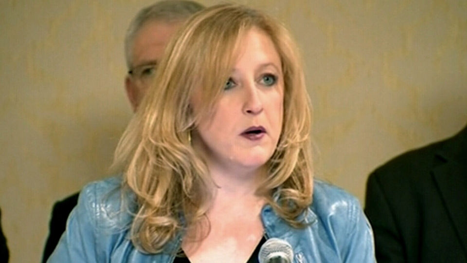Transportation Minister Lisa Raitt speaks during a press conference in Winnipeg, Friday, March 7, 2014.