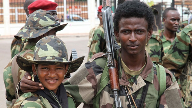 Young soldiers in Central African Republic