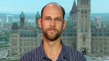 Derek Mueller, a researcher and assistant professor with Carleton University appears on Canada AM, Wednesday, Sept. 28, 2011.