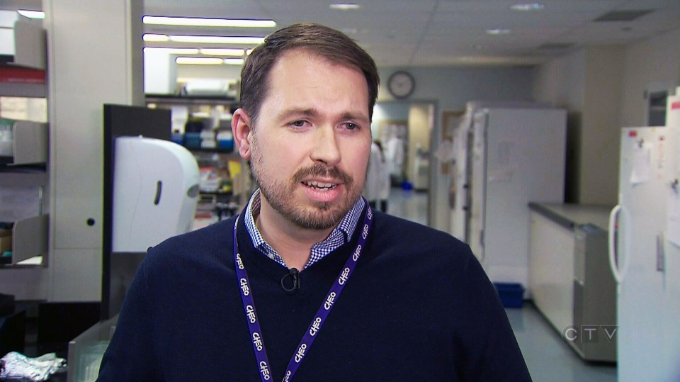 Dr. Jason Brophy, the study's co-principal investigator and researcher at the CHEO Research Institute in Ottawa, speaks to CTV News.