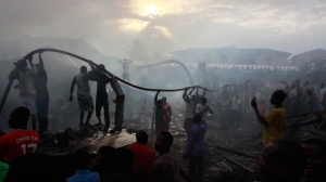 Lagos, Nigeria, plane crash