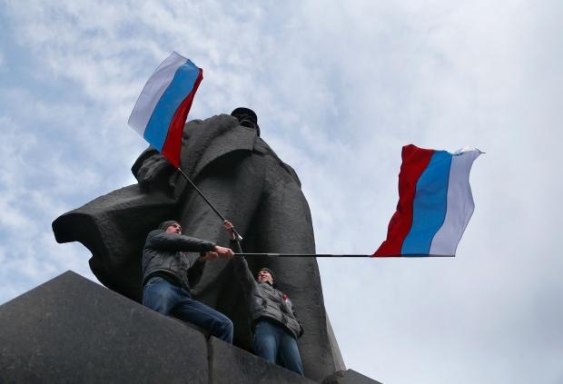 Pro-Russians in Ukraine
