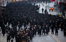 Orthodox Jews protest in NYC