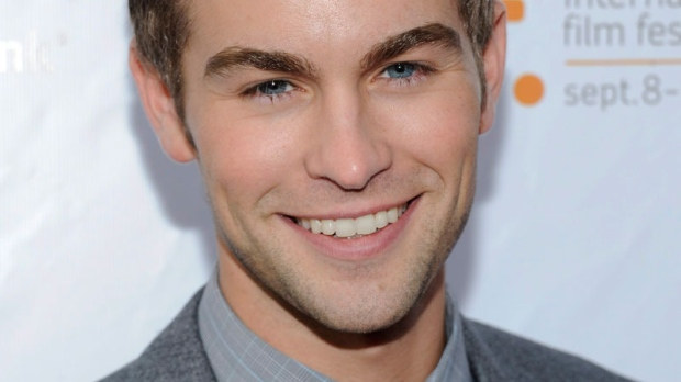 Chace Crawford attends the gala screening for the film 'Peace, Love and Understanding' during the Toronto International Film Festival on Tuesday, Sept. 13, 2011 in Toronto. (AP / Evan Agostini)
