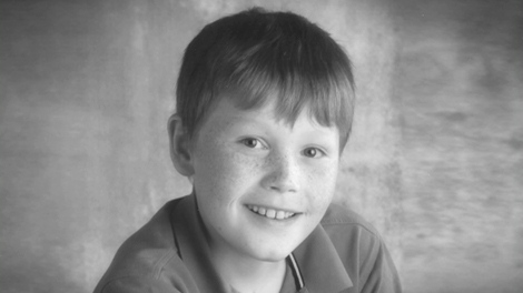 Mitchell Wilson, who suffered from muscular dystrophy, seen in an undated image.