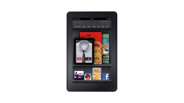 Kindle Fire unveiled